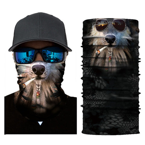 Image of 3D Face Scarf