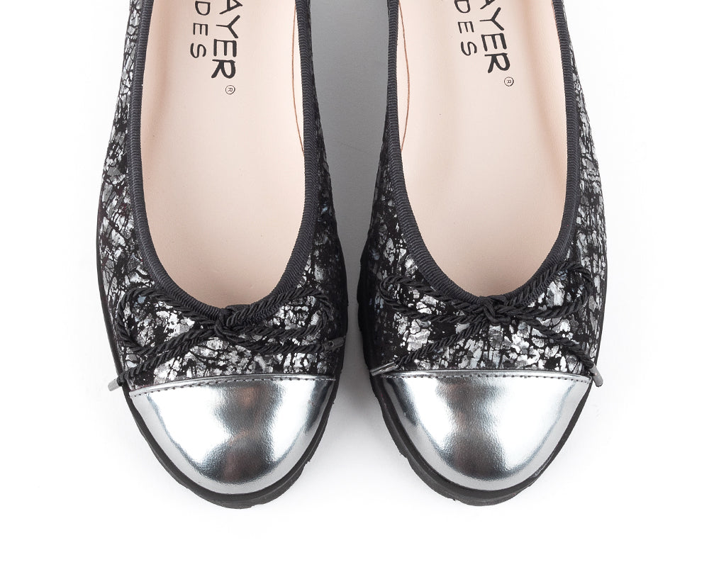 Shop Paul Mayer Lug Sole Ballet Flats