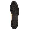 Womens Beige/Black Brio Lug Sole Flat 7