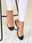 Womens Black/Beige Bravo Lug Sole Ballet 4 Alternate View
