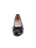 Womens Black Patent/Black Nappa Crave Leather Ballet Flat 4 Alternate View