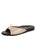 Womens Champagne Win Quilted Sandal