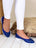 Womens Cobalt Blue Bravo Lug Sole Ballet 4 Alternate View