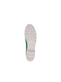 Womens Green Bravo Lug Sole Ballet 7