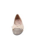 Womens Marion/Marfil Best Quilted Leather Ballet Flat 6