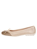 Womens Taupe/Salinas Crave Leather Ballet Flat 6