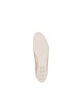 Womens Taupe/Salinas Crave Leather Ballet Flat 7
