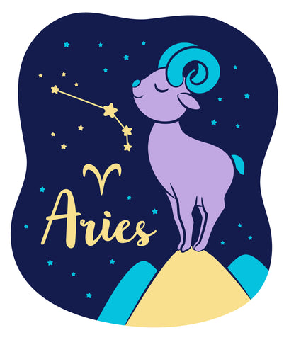 Celebrate your Aquarius Zodiac personality with our kids fashion prints featuring your sign, constellation, and your identifying Aries Sign mascot. Printed on our classic soft organic  cotton stretch signature knit and cut.