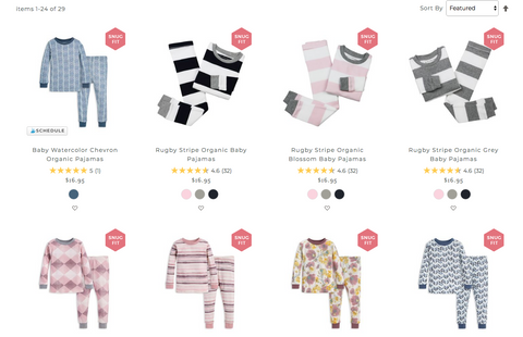 Burt's Bees Organic Clothing for Babies