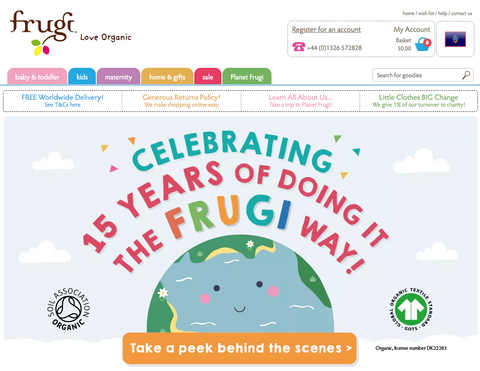 Planet Frugi Organic Clothing