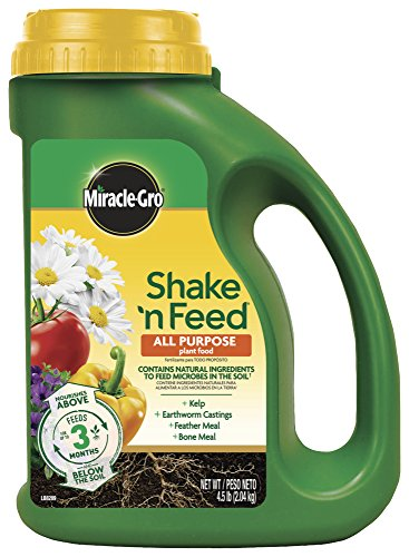 Miracle-Gro 3001910 Shake 'N Feed All Purpose Continuous Release Plant Food - Lovely Seeds