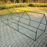 Outsunny 9'L x 3'W x 3'H Portable Flower Garden Greenhouse - Lovely Seeds