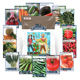 Vegetable Seed Garden Collection 15 Varieties Non GMO - Lovely Seeds