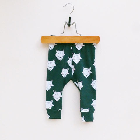 "Leggings ""Zorros-verde"""