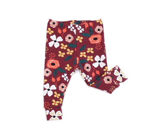 Legging FLOWERS WINE