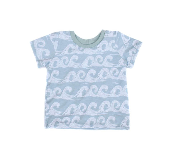 Camiseta MINT WAVES