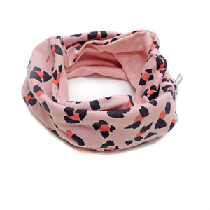 cuello ANIMAL PRINT PINK