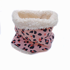 cuello ANIMAL PRINT-PINK (borreguito)