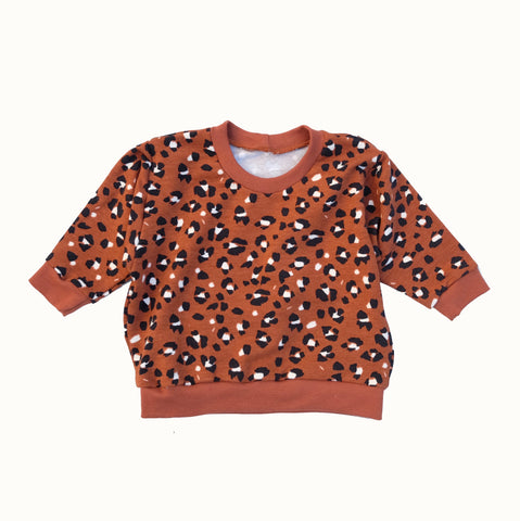 Sudadera ANIMAL PRINT RUSTY