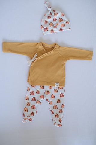 Conjunto Newborn RAINBOW-GOLD