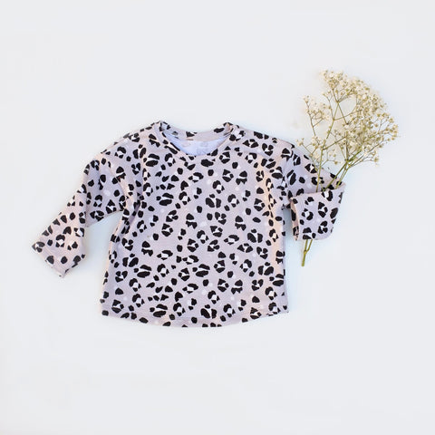 sudadera ANIMAL PRINT-GRIS