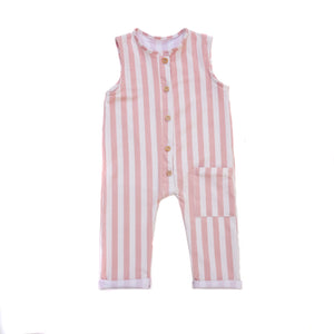 Peto largo STRIPES PINK