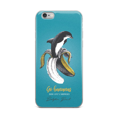 Dolphin Peel iPhone Case