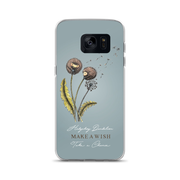 Hedgehog Dandelion iPhone/Samsung Galaxy Case