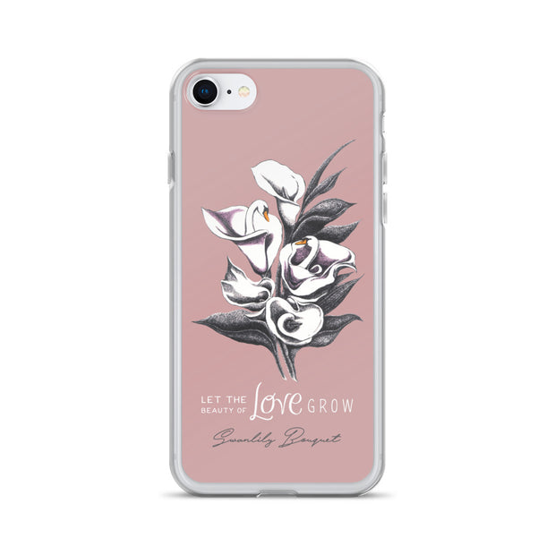 Swanlily Bouquet iPhone Case