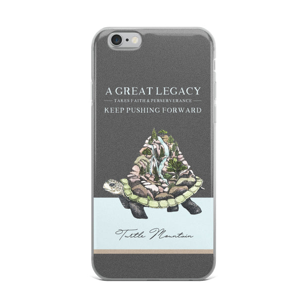 Turtle Mountain iPhone Case