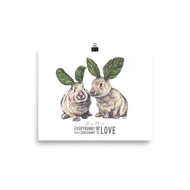 Bunny Munch Art Print