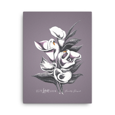 Swanlily Bouquet Canvas Print