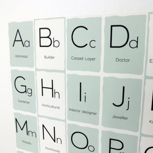 ABC Fabric Wall Decal - A Creative Hart