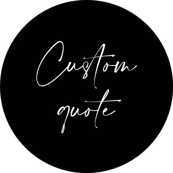 Custom Fabric Wall Decal Quote - 'Use your own' - A Creative Hart