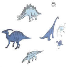 Dinosaur Fabric Wall Decals ( Set of 6 ) - A Creative Hart