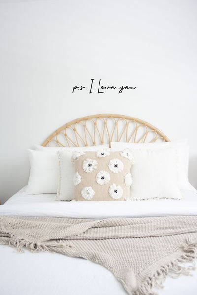 Above Bed Romantic Love Wall Sticker | A Creative Hart - A Creative Hart
