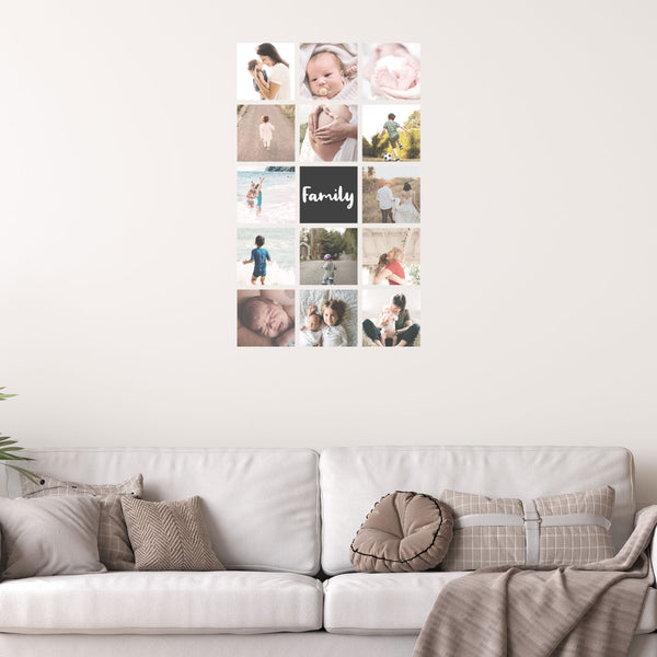 Photo Wall Strip - Set of 15 - A Creative Hart Fabric Wall Decals