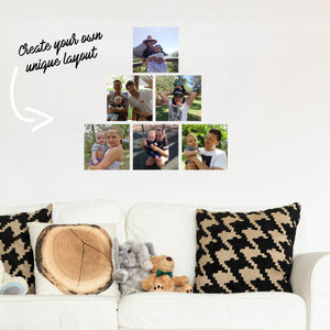 Square Fabric Wall Decal Photo ( Single ) - A Creative Hart