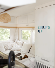 'Surf's Up' R U Wall Quote | Boys Room Girls Room | Surf Style | A Creative Hart Fabric Wall Decal - A Creative Hart
