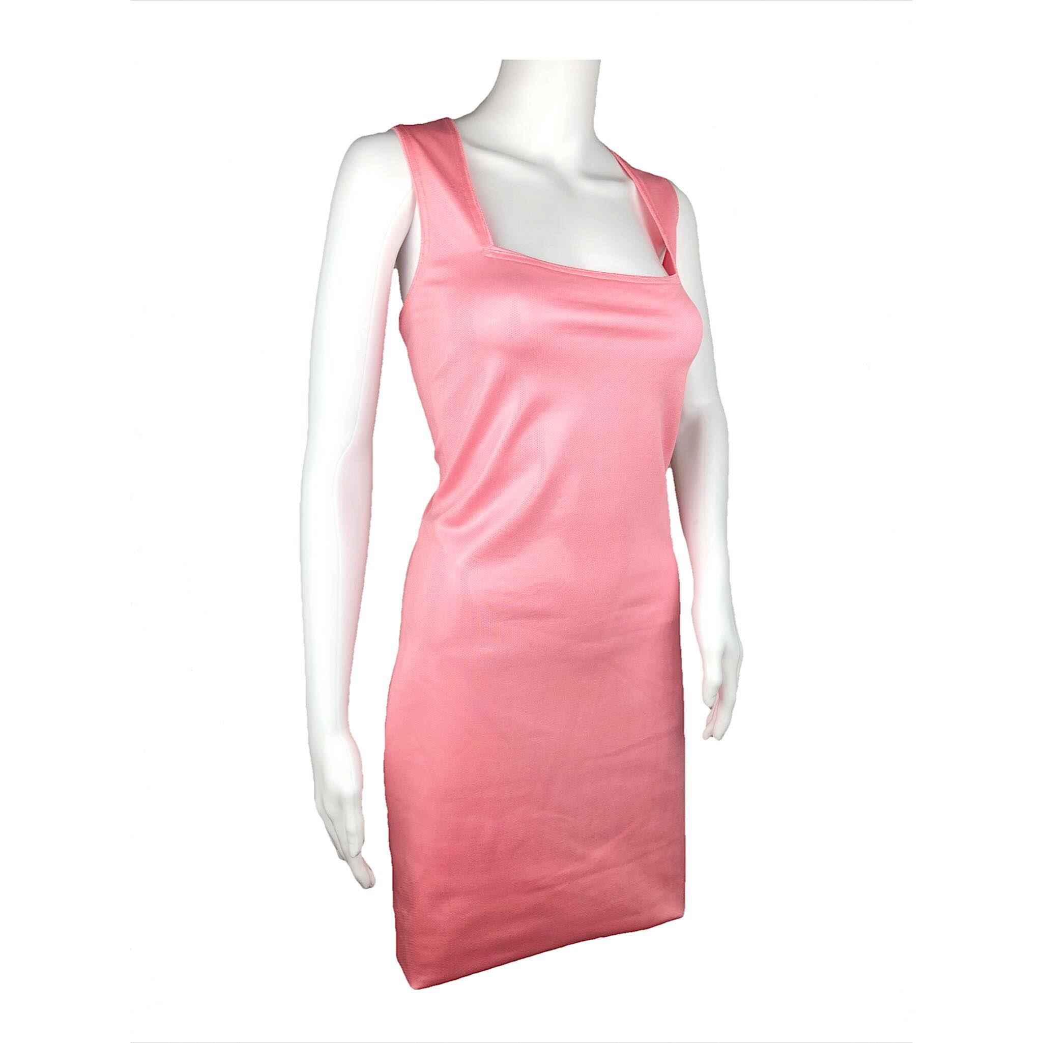 #VTG4BLM SALE Versace Istante pink dress