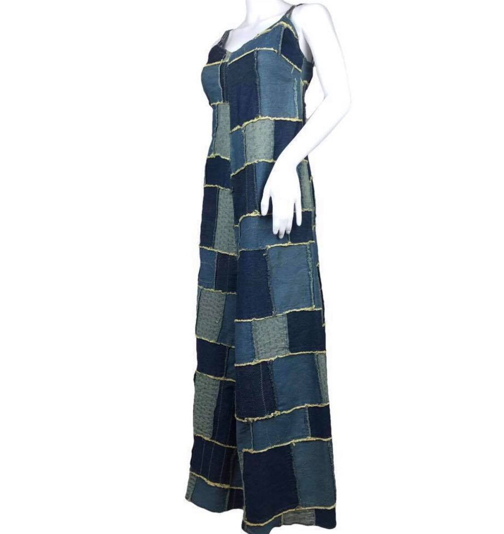 #VTG4BLM SALE Jean-Paul Gaultier Patchwork Denim Dress