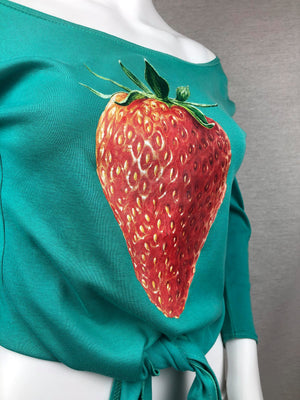 #VTG4BLM SALE Chloé by Stella McCartney strawberry top