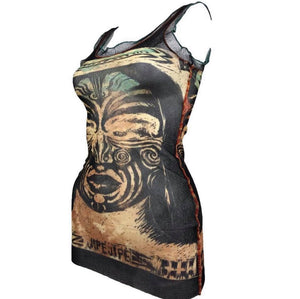#VTG4BLM SALE Jean-Paul Gaultier tribal tank top