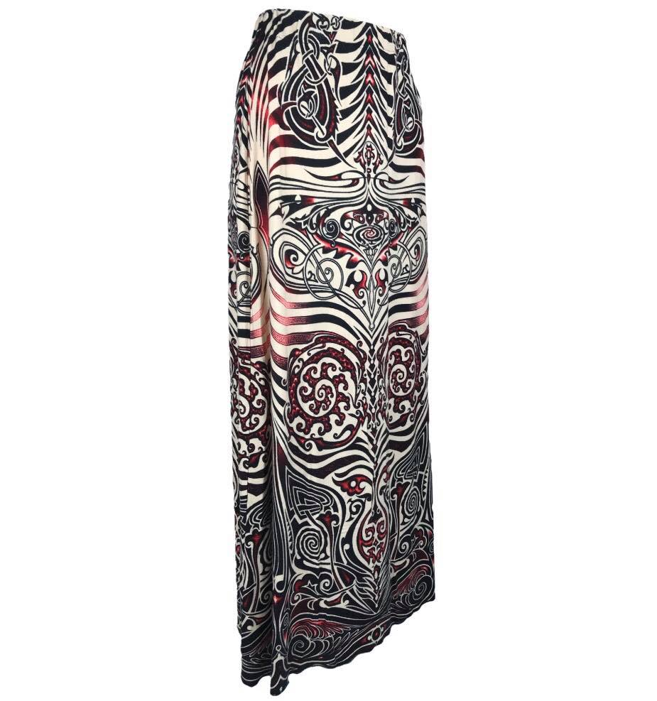 Jean-Paul Gaultier tribal skirt