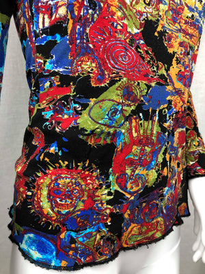 Jean-Paul Gaultier Basquiat top