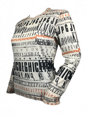 Jean-Paul Gaultier Alphabet top