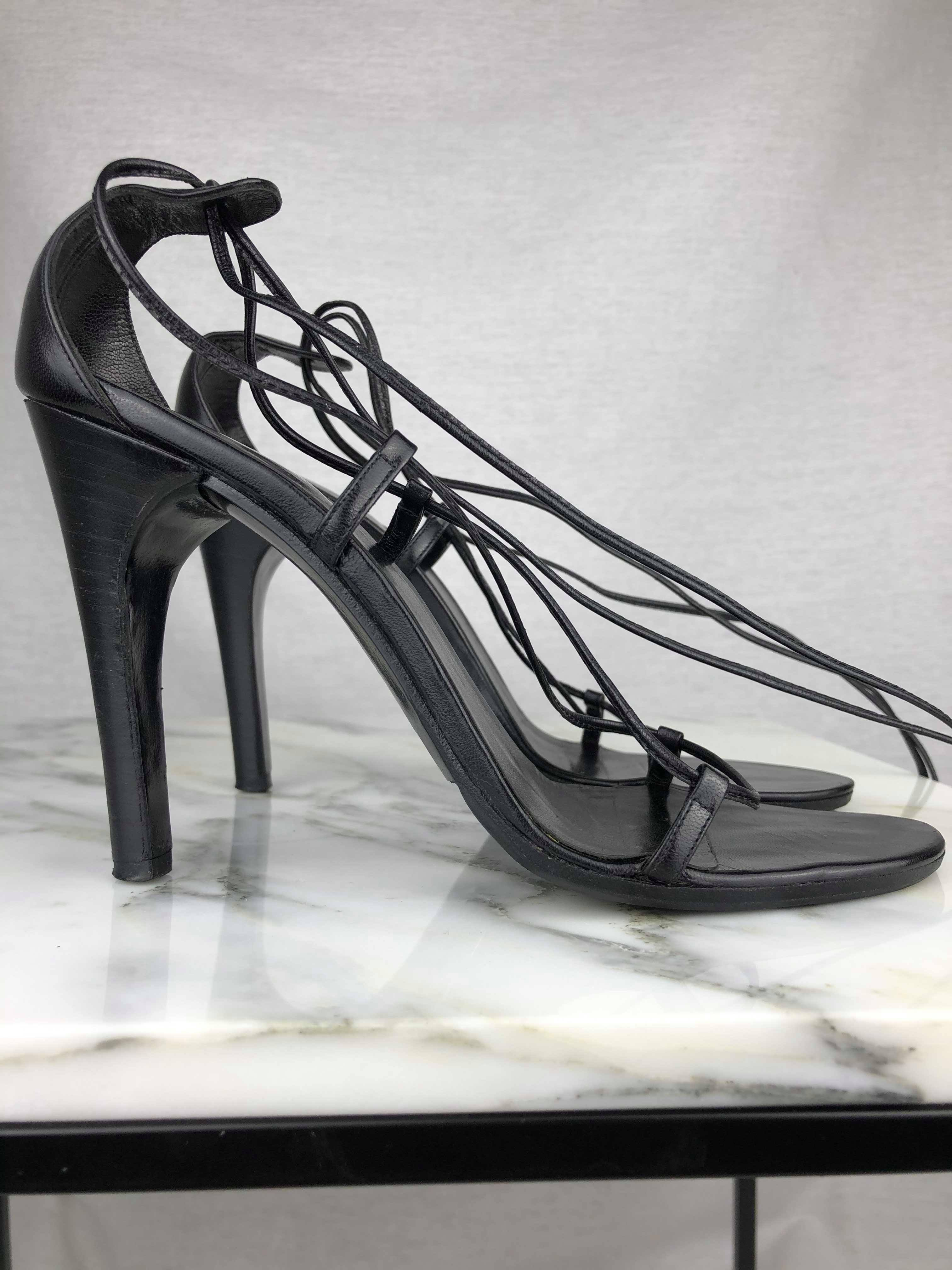 Gucci Tom Ford laced straps sandals