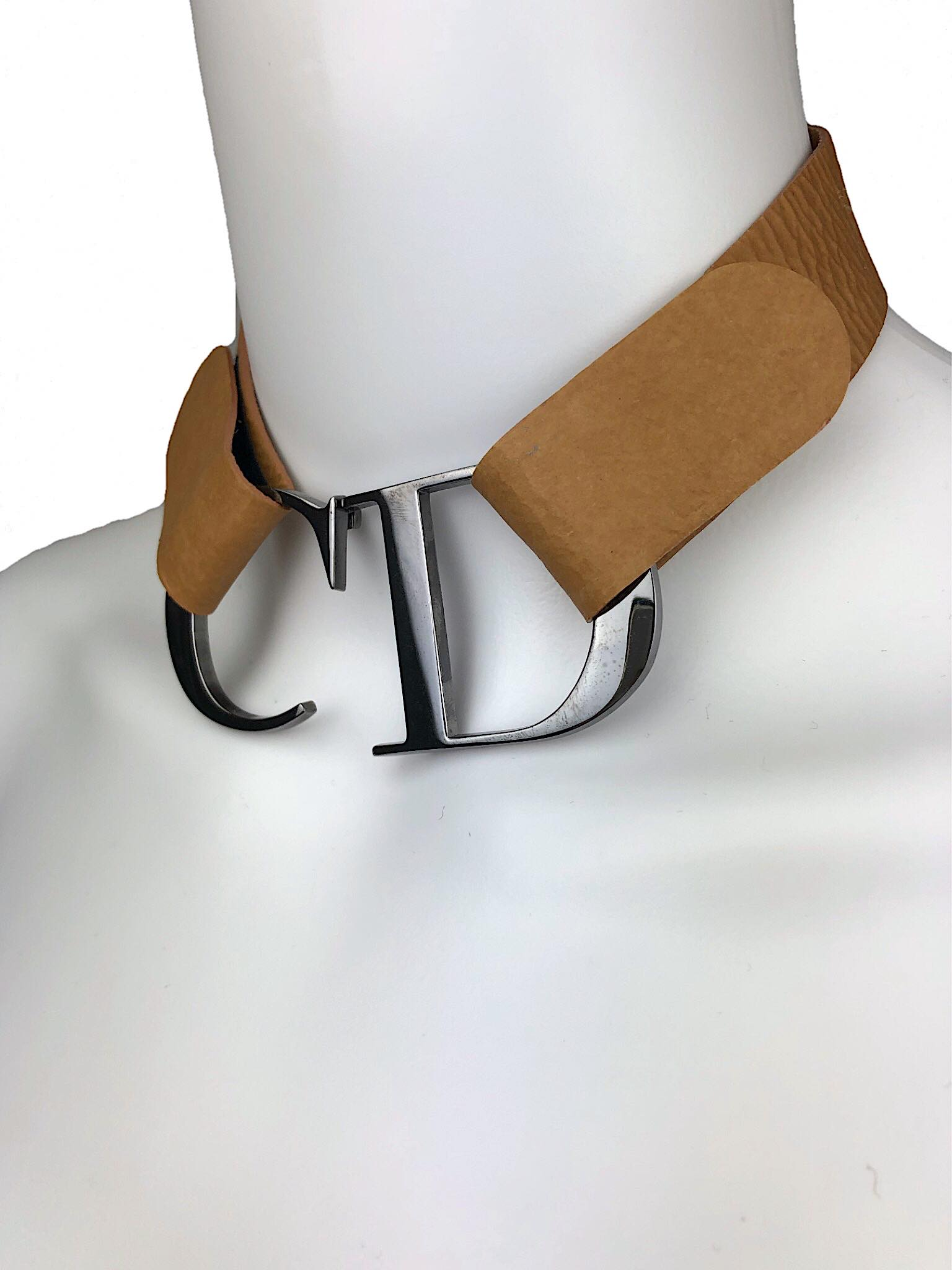 Christian Dior CD choker from Spring 2000 collection