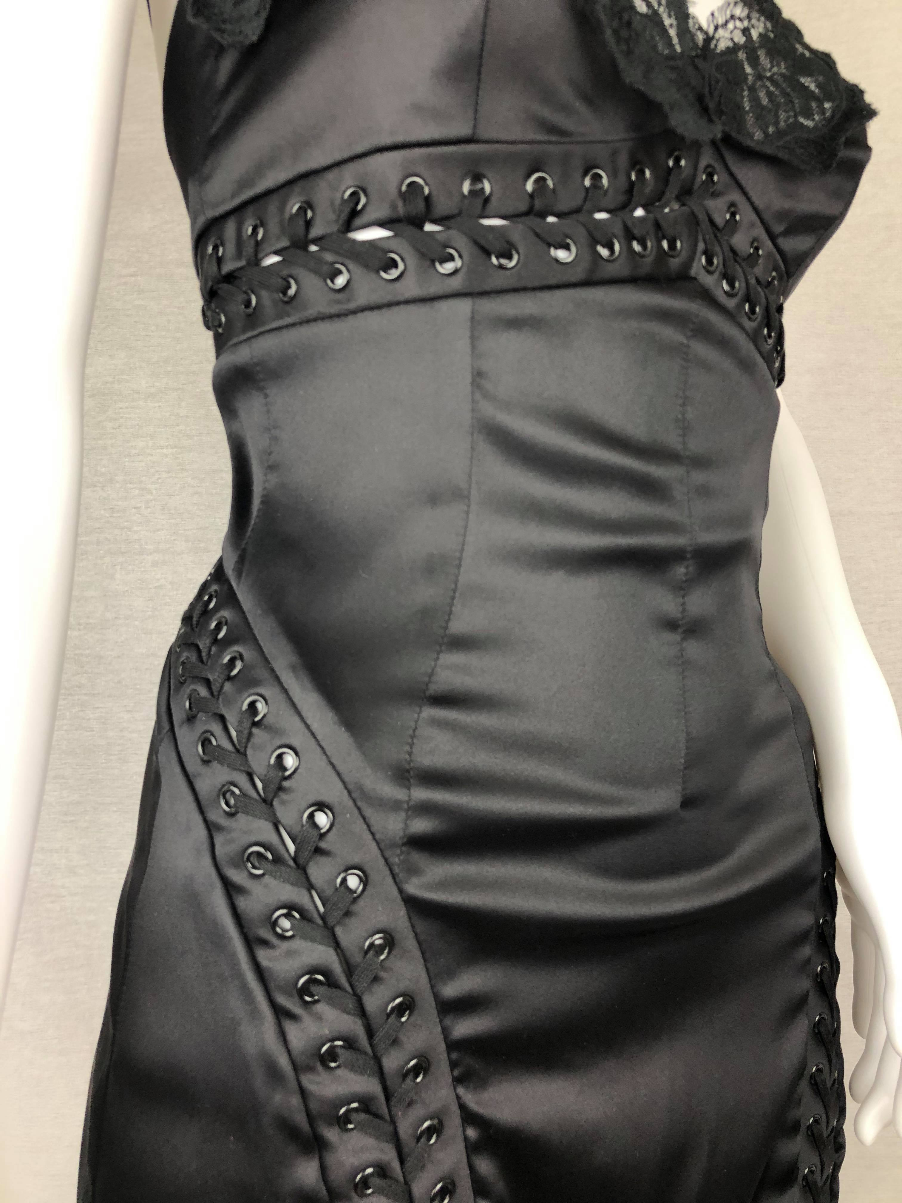 Dolce & Gabbana bondage dress from Spring 2003 collection