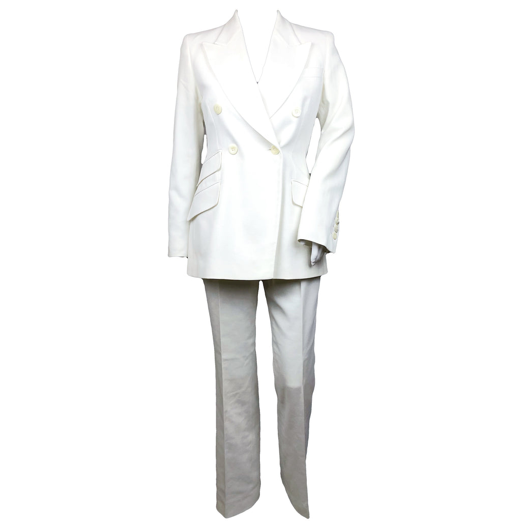 Gucci 1997 white suit